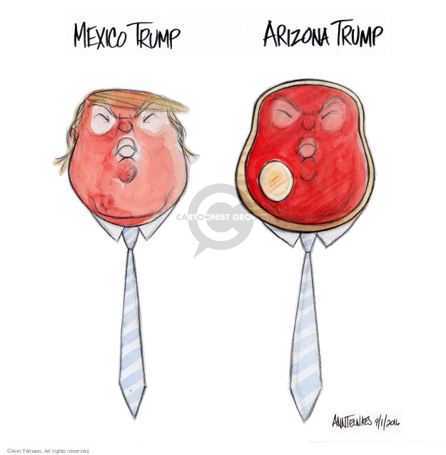 Ann Telnaes  Ann Telnaes' Editorial Cartoons 2016-09-01 Mexico