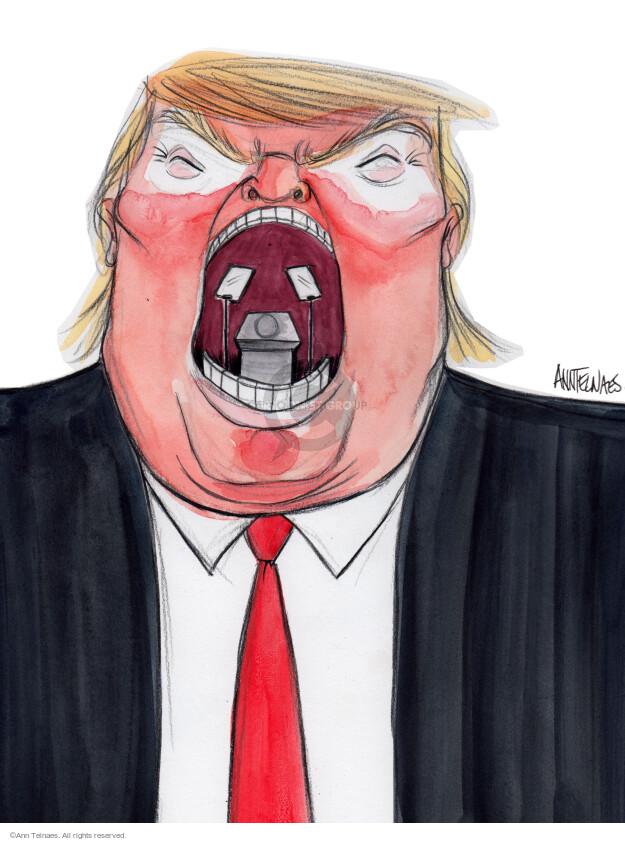 Ann Telnaes  Ann Telnaes' Editorial Cartoons 2016-09-07 write