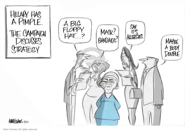 Cartoonist Ann Telnaes  Ann Telnaes' Editorial Cartoons 2016-09-13 strategy