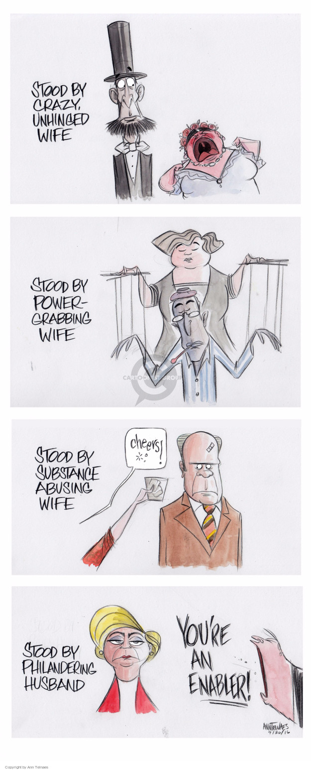 Ann Telnaes  Ann Telnaes' Editorial Cartoons 2016-09-30 Secretary of State
