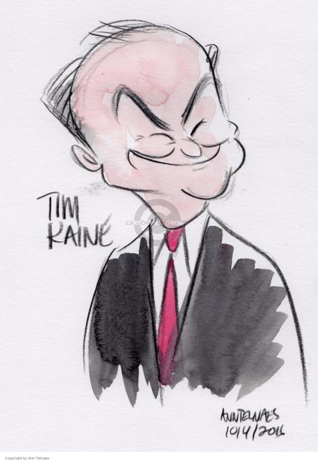 Cartoonist Ann Telnaes  Ann Telnaes' Editorial Cartoons 2016-10-04 vice-presidential debate