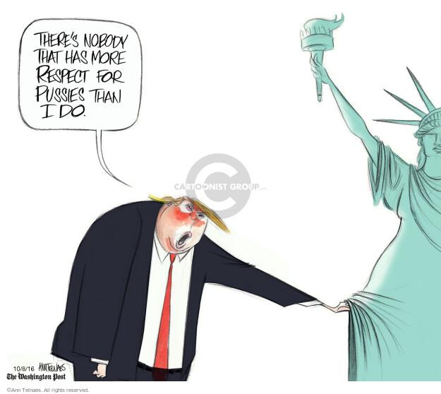 Ann Telnaes  Ann Telnaes' Editorial Cartoons 2016-10-08 equality