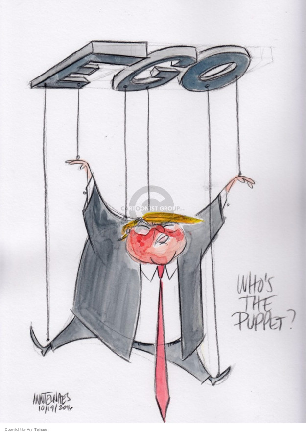 Ann Telnaes  Ann Telnaes' Editorial Cartoons 2016-10-20 Secretary of State