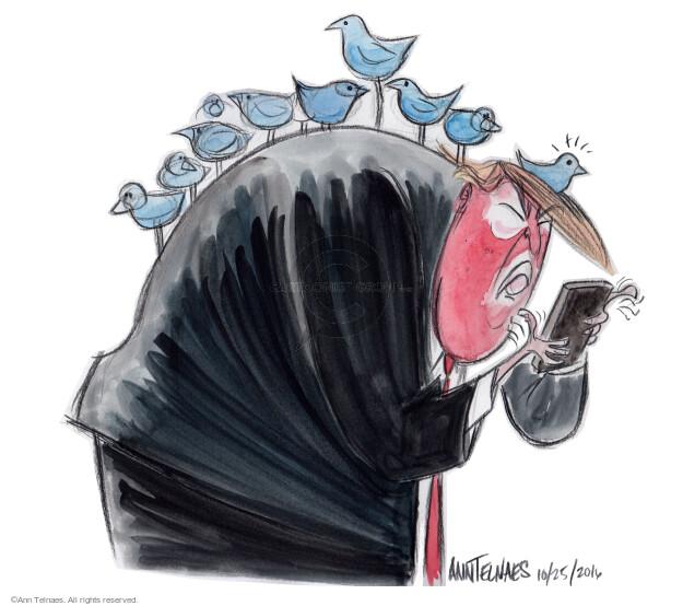 Ann Telnaes  Ann Telnaes' Editorial Cartoons 2016-10-25 social media
