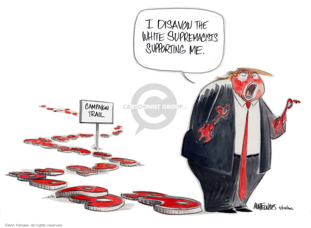 Cartoonist Ann Telnaes  Ann Telnaes' Editorial Cartoons 2016-11-23 discrimination