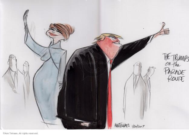 Ann Telnaes  Ann Telnaes' Editorial Cartoons 2017-01-20 Melania