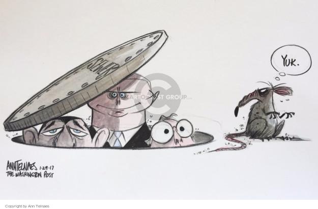 Ann Telnaes  Ann Telnaes' Editorial Cartoons 2017-01-29 executive branch