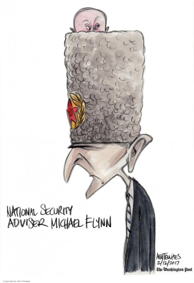 Cartoonist Ann Telnaes  Ann Telnaes' Editorial Cartoons 2017-02-12 presidential administration