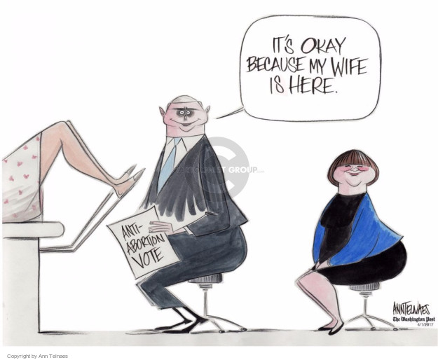 Ann Telnaes  Ann Telnaes' Editorial Cartoons 2017-04-01 health care