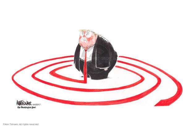 Ann Telnaes  Ann Telnaes' Editorial Cartoons 2017-04-04 around