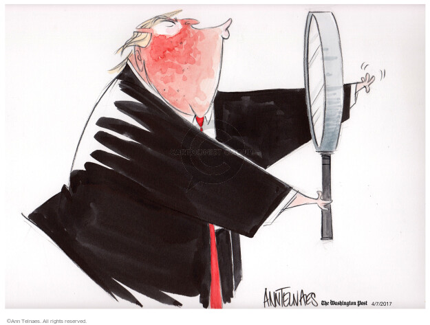 Ann Telnaes  Ann Telnaes' Editorial Cartoons 2017-04-07 presidential