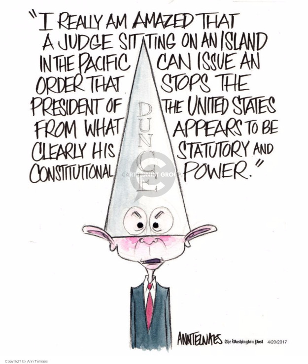 Ann Telnaes  Ann Telnaes' Editorial Cartoons 2017-04-20 can
