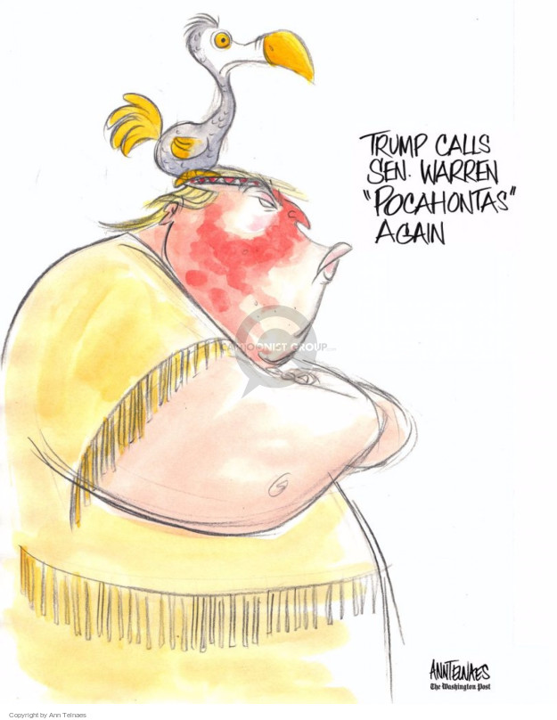 Ann Telnaes  Ann Telnaes' Editorial Cartoons 2017-04-30 presidential