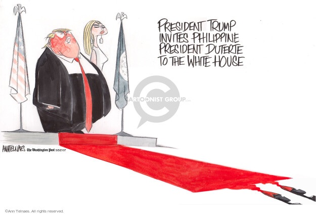 Cartoonist Ann Telnaes  Ann Telnaes' Editorial Cartoons 2017-05-03 foreign policy