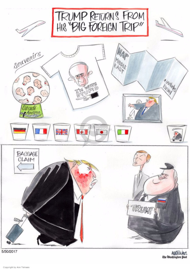 Ann Telnaes  Ann Telnaes' Editorial Cartoons 2017-05-30 Middle East