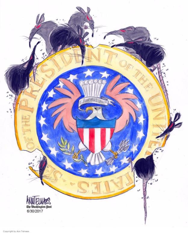Cartoonist Ann Telnaes  Ann Telnaes' Editorial Cartoons 2017-06-30 state
