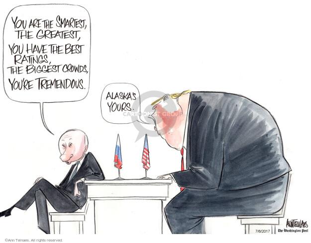 Ann Telnaes  Ann Telnaes' Editorial Cartoons 2017-07-06 Alaska