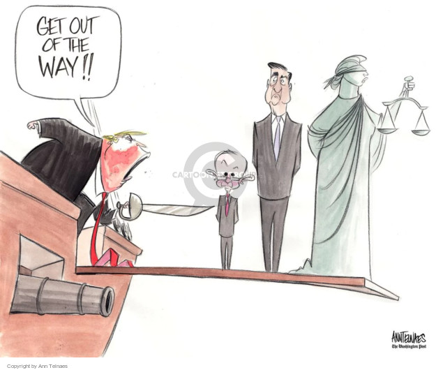 Cartoonist Ann Telnaes  Ann Telnaes' Editorial Cartoons 2017-07-26 president