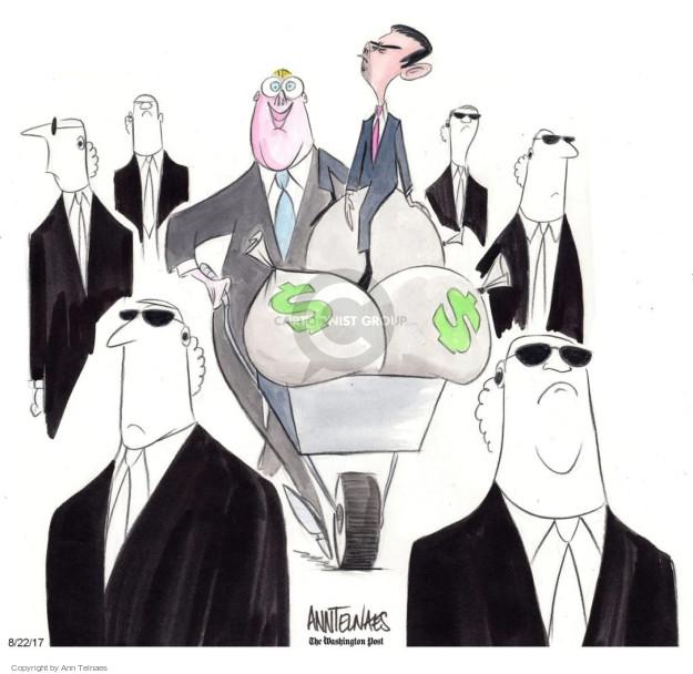 Cartoonist Ann Telnaes  Ann Telnaes' Editorial Cartoons 2017-08-22 presidential administration