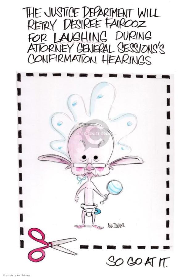 Ann Telnaes  Ann Telnaes' Editorial Cartoons 2017-09-06 nominee