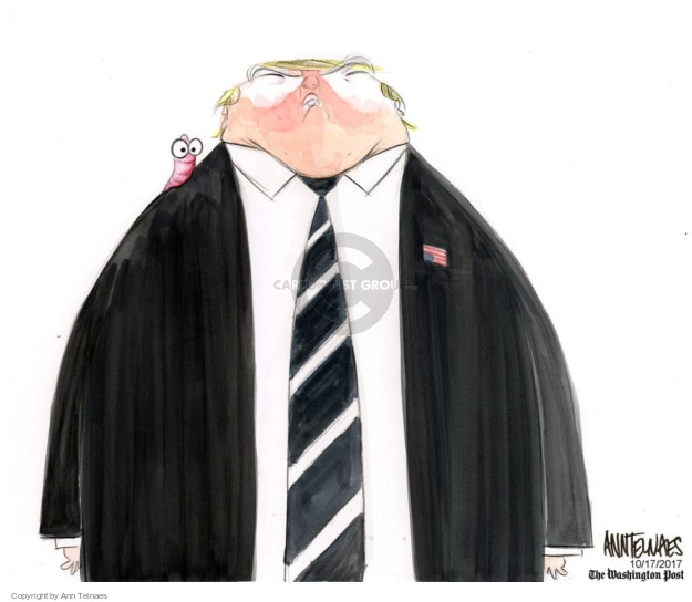 Cartoonist Ann Telnaes  Ann Telnaes' Editorial Cartoons 2017-10-17 senate