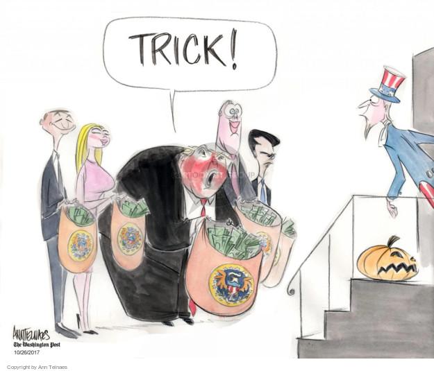 Cartoonist Ann Telnaes  Ann Telnaes' Editorial Cartoons 2017-10-26 Presidency