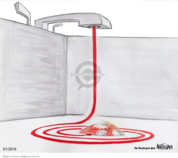 Ann Telnaes  Ann Telnaes' Editorial Cartoons 2018-03-01 collusion investigation