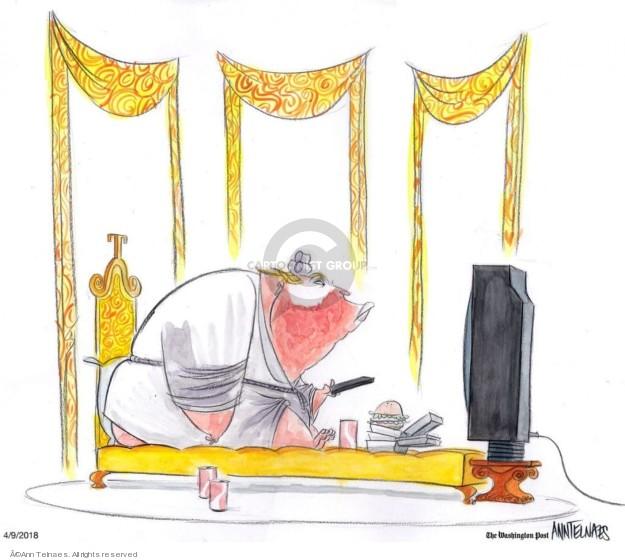 Ann Telnaes  Ann Telnaes' Editorial Cartoons 2018-04-09 Donald Trump
