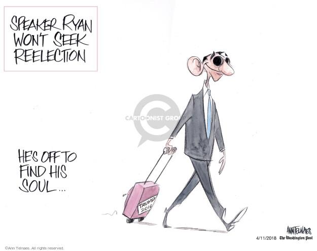 Cartoonist Ann Telnaes  Ann Telnaes' Editorial Cartoons 2018-04-11 legislative