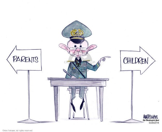 Ann Telnaes  Ann Telnaes' Editorial Cartoons 2018-05-29 family separation