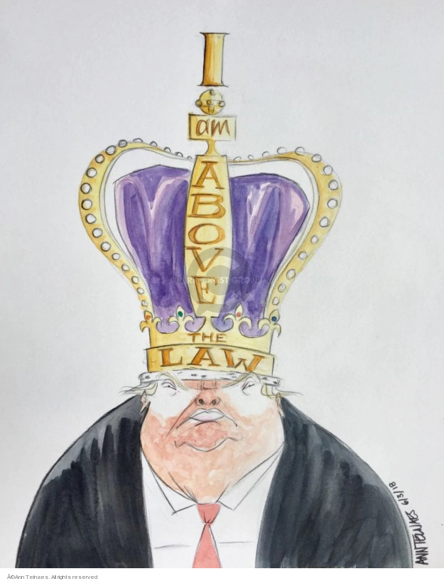 Cartoonist Ann Telnaes  Ann Telnaes' Editorial Cartoons 2018-06-03 Presidency