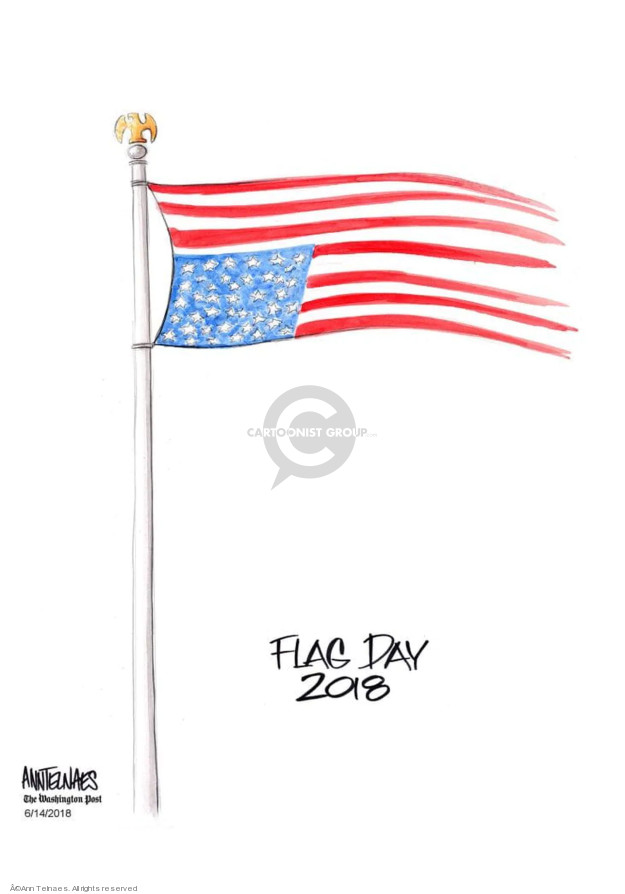 Ann Telnaes  Ann Telnaes' Editorial Cartoons 2018-06-14 patriotic