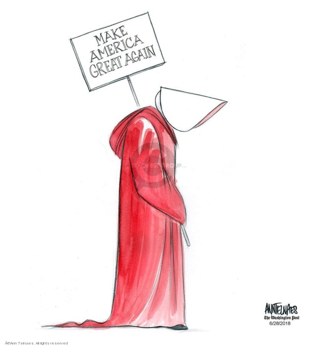 Cartoonist Ann Telnaes  Ann Telnaes' Editorial Cartoons 2018-06-28 presidential administration