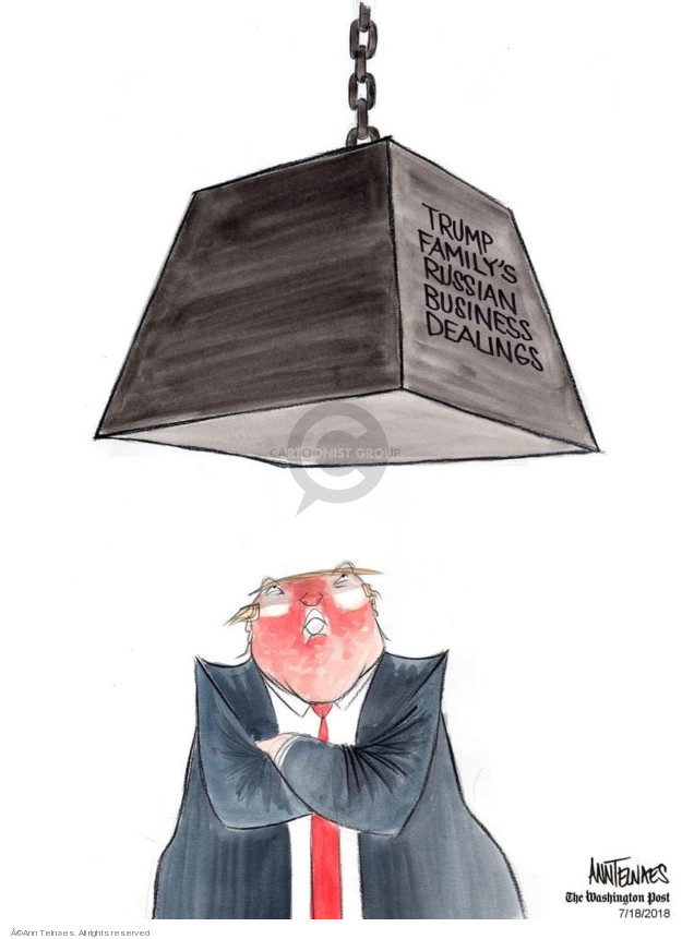 Ann Telnaes  Ann Telnaes' Editorial Cartoons 2018-07-18 business