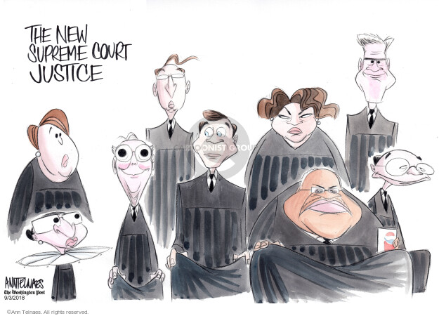 Ann Telnaes  Ann Telnaes' Editorial Cartoons 2018-09-03 supreme court nominee