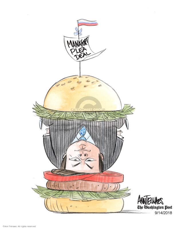Ann Telnaes  Ann Telnaes' Editorial Cartoons 2018-09-14 Paul Manafort
