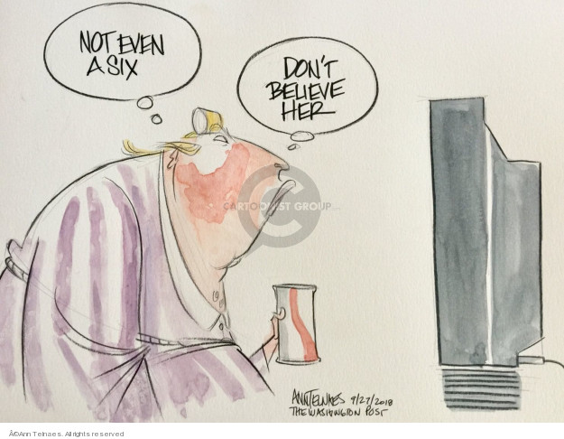 Ann Telnaes  Ann Telnaes' Editorial Cartoons 2018-09-27 don't