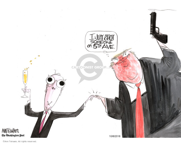 Ann Telnaes  Ann Telnaes' Editorial Cartoons 2018-10-08 supreme leader