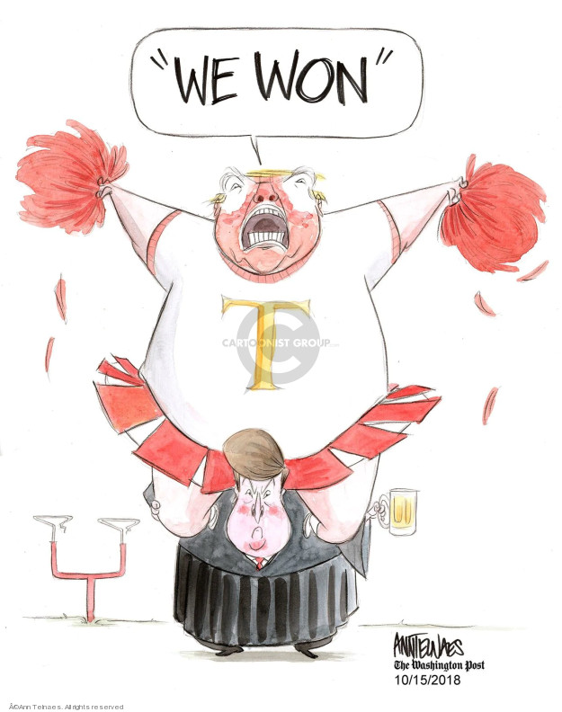 Ann Telnaes  Ann Telnaes' Editorial Cartoons 2018-10-15 sexual