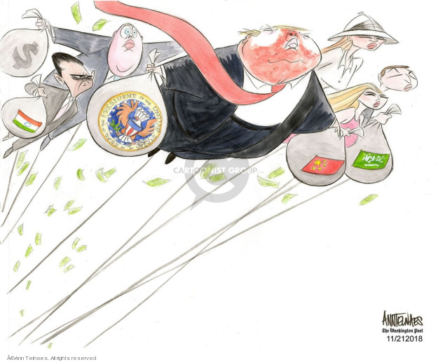 Ann Telnaes  Ann Telnaes' Editorial Cartoons 2018-11-21 Melania Trump