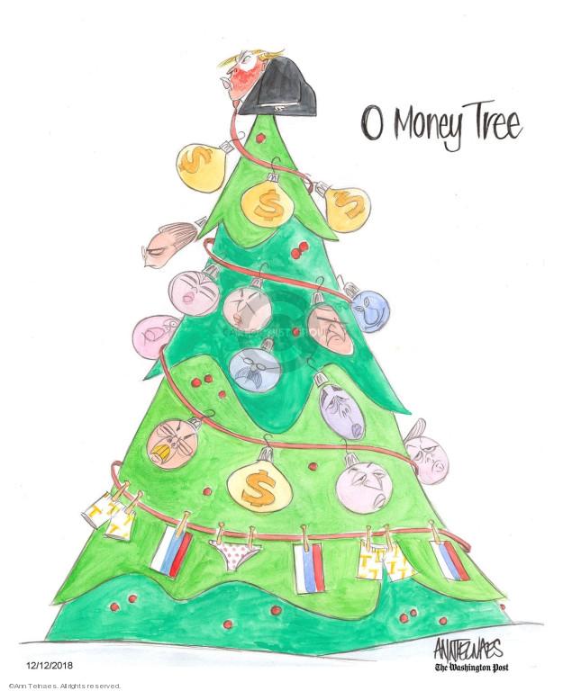 Cartoonist Ann Telnaes  Ann Telnaes' Editorial Cartoons 2018-12-12 Christmas
