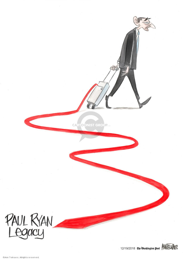 Cartoonist Ann Telnaes  Ann Telnaes' Editorial Cartoons 2018-12-19 Ryan