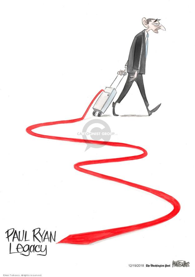 Cartoonist Ann Telnaes  Ann Telnaes' Editorial Cartoons 2018-12-19 legislative
