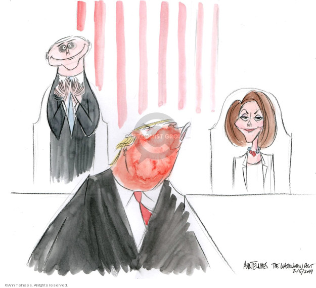 Cartoonist Ann Telnaes  Ann Telnaes' Editorial Cartoons 2019-02-05 address