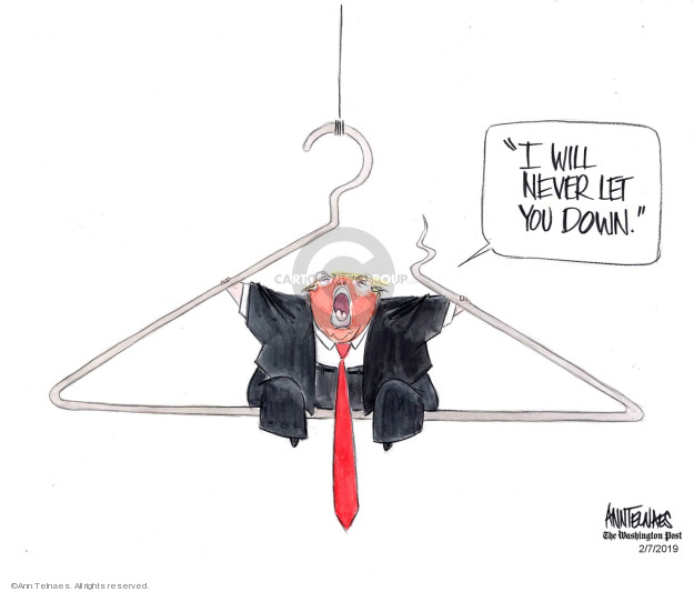 Ann Telnaes  Ann Telnaes' Editorial Cartoons 2019-02-07 health care