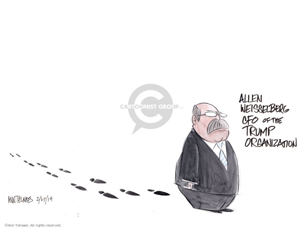 Ann Telnaes  Ann Telnaes' Editorial Cartoons 2019-02-27 Cohen