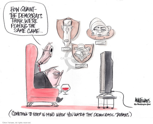Ann Telnaes  Ann Telnaes' Editorial Cartoons 2019-06-26 court