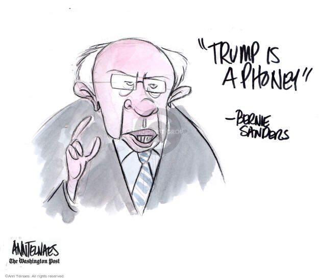 Ann Telnaes  Ann Telnaes' Editorial Cartoons 2019-06-27 2020 election debate