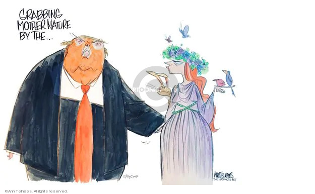 Ann Telnaes  Ann Telnaes' Editorial Cartoons 2019-08-30 environment