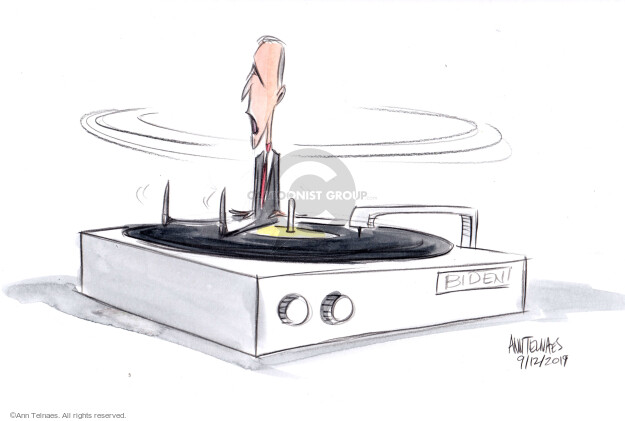 Ann Telnaes  Ann Telnaes' Editorial Cartoons 2019-09-12 Joe